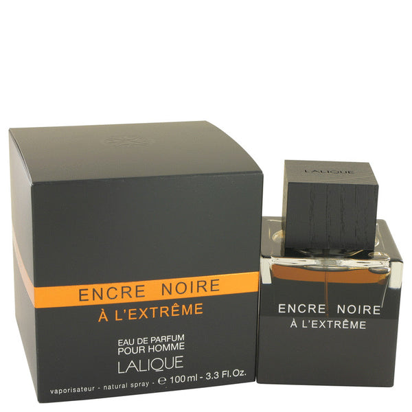 Encre Noire A L'Extreme By Lalique Eau De Parfum Spray 3.3 Oz / 100 Ml For Men