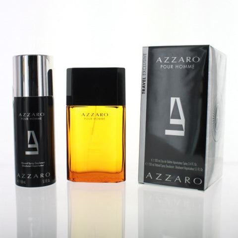 Azzaro By Azzaro 2 Piece Gift Set - 3.4 Oz EDT Spray, 5.1 Oz Deodorant Spray For Men