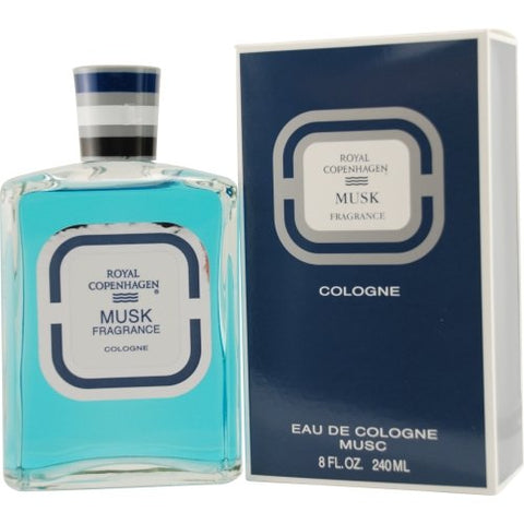 Musk By Royal Copenhagen 8.0 Oz  Col Splash For Men Box