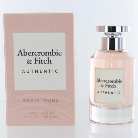 Abercrombie & Fitch Authentic By Abercrombie & Fitch 3.4 Oz EDP Spray For Women Box