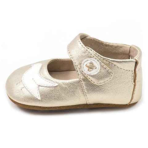 Livie & Luca Silver Metallic PioPio for Baby Girl