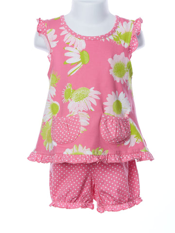 Three Friends Baby Girl Darling Daisy 2 Pc. Set