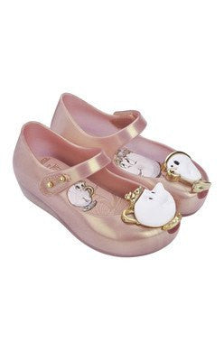Mrs. Pots Mini Melissa Shoe in Metallic Pink