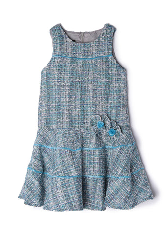 Isobella & Chloe Girl's Designer Tiered Dress
