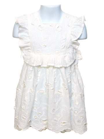 Lace Smock Toddler Dress