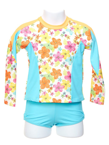 Mango Delight Toddler Girl Rash Guard