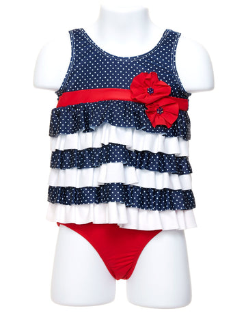 Liberty Belle Toddler Tankini