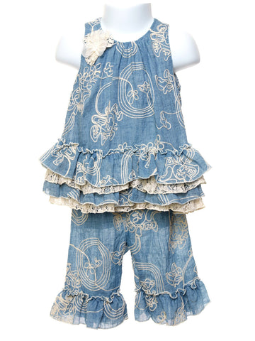 Isobella & Chloe Annabelle Two Piece Toddler Set