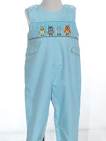 Mom & Me Boy's Smocked Owl Longall