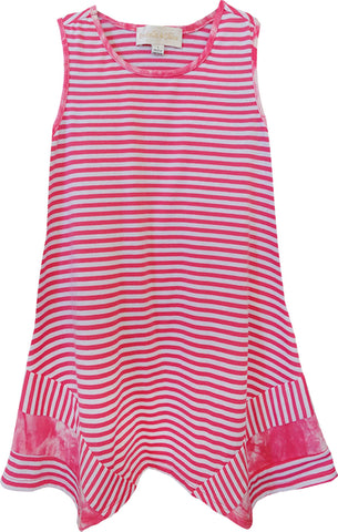 Cool & Comfortable Stripe Tunic Top for Girls