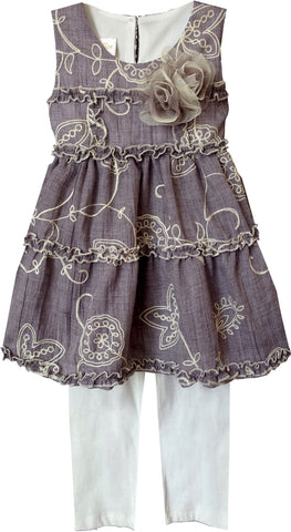 Pretty Oh So Pretty Purple Baby & Toddler Girl Summer Set