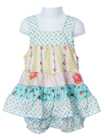 LaJenns Baby Girl's Sundress with Bloomers