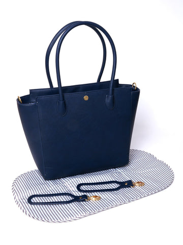 Brookside Tote in Navy