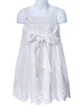 Cotton Kids Border Eyelet Lace Dress