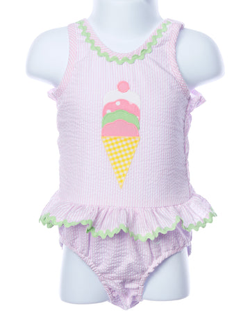 Funtasia Too One Piece Ice Cream Cone Swimsuit