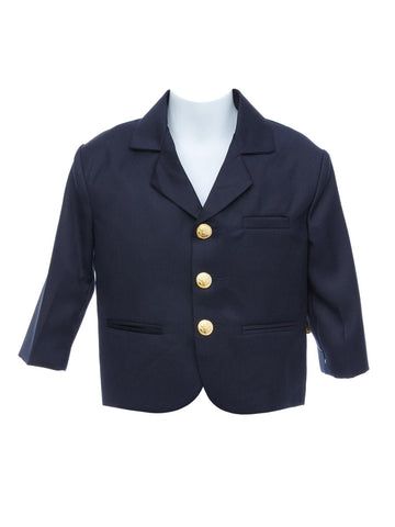 Dressed to Impress Boys Navy Blazer