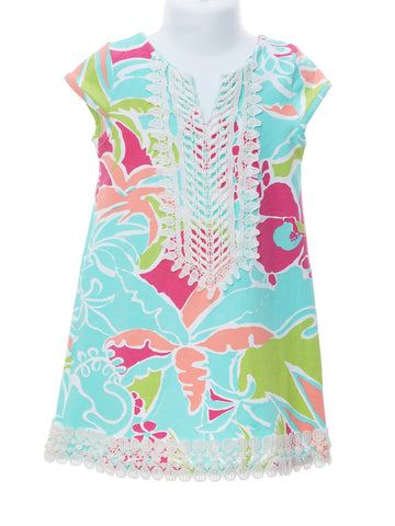 Palm Beach Cap Sleeve Dress