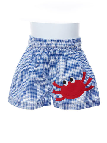 Toddler Boy Happy Crab Swim Trunks