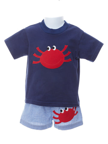 Funtasia Too Baby Boy Happy Crab Tee Shirt
