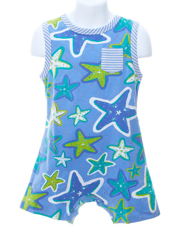 Three Friends Baby High Fashion Starfish Romper