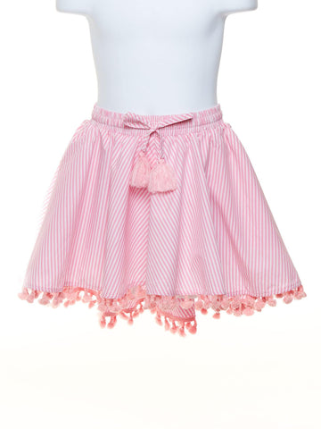Circle Skirt With Tassels Toddler Size