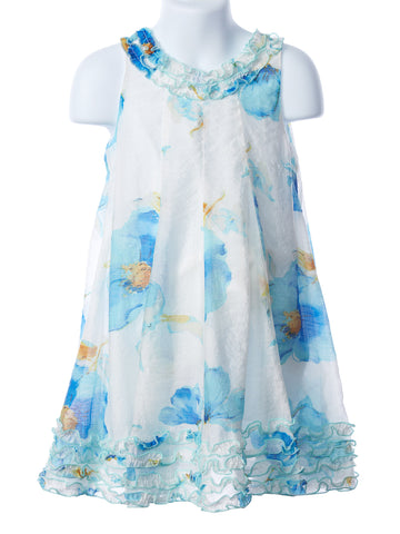 Isobella and Chloe Girl's Budding Beauty Dress