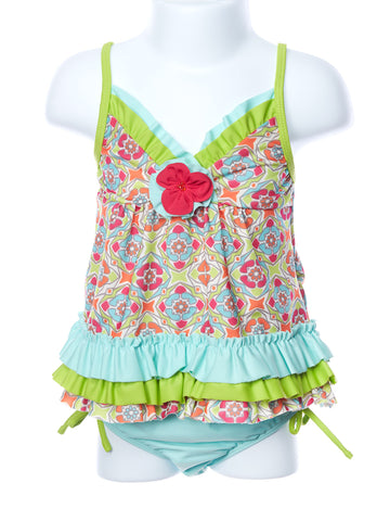 Isobella and Chloe Groovy Get Away Two Piece Swimsuit