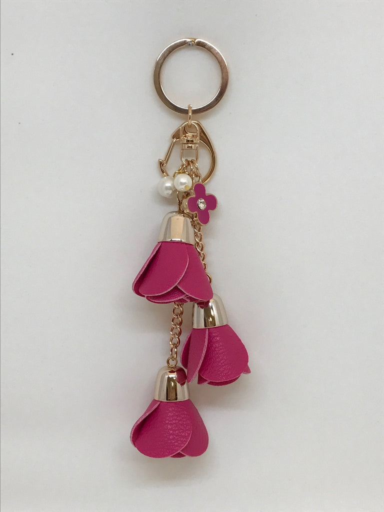 Floral Dangle Keychain