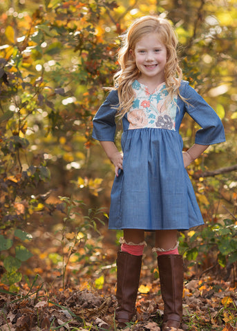 Mabel + Honey Girl's Secret Garden Dress