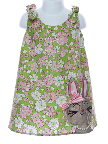 LaJenns Shoulder Tie Bunny Dress