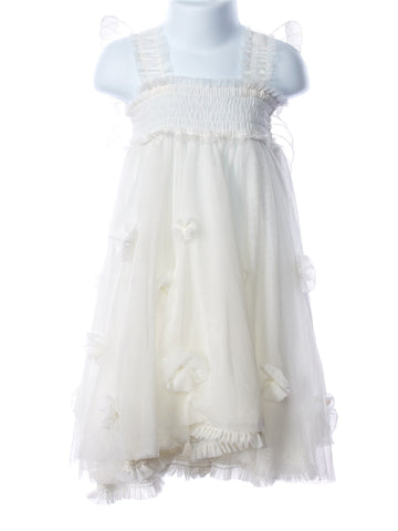 Luna Luna Cloudine Lace Wing Girl's Dress