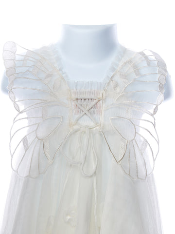 Luna Luna Cloudine Lace Wing Baby Dress