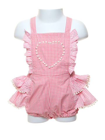 Frilled Gingham Bubble