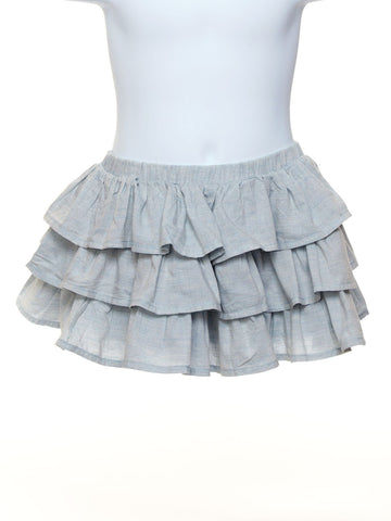 Frilled Voile Toddler Skirt