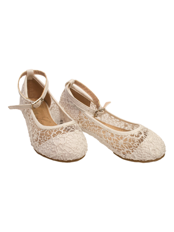 Lauren Lorraine Holly Lace Flat