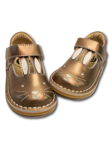 Livie & Luca Molly Copper Bunny Baby Shoe