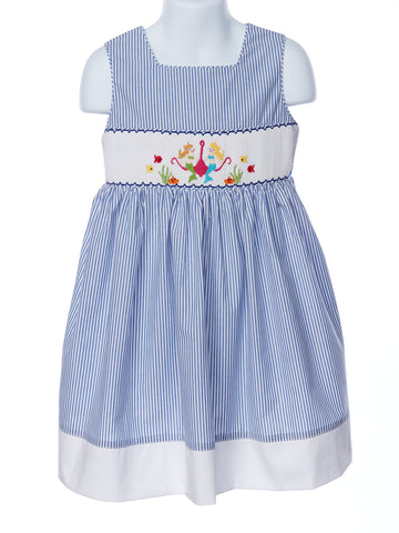 Mom& Me Smocked Mermaid Summer Dress