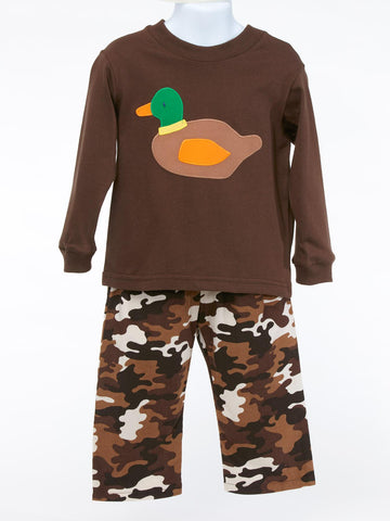 Just Ducky - Duck Shirt & Camo Pants
