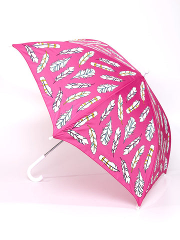 Holly and Beau Feather Color Changing Umbrella
