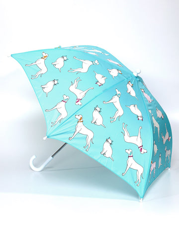 Holly and Beau Cats and Dog Umbrella