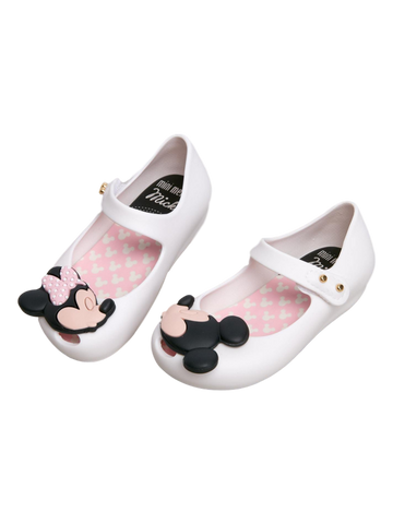 Mini Melissa White Ultra Disney Shoe