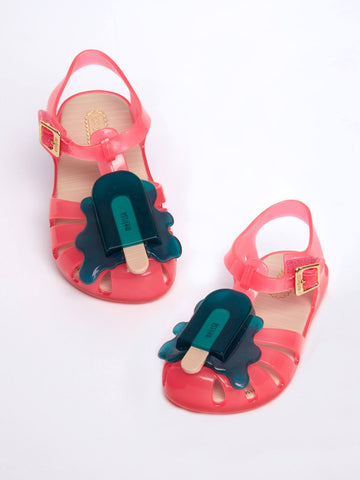 Mini Melissa Pink Jelly Sandal