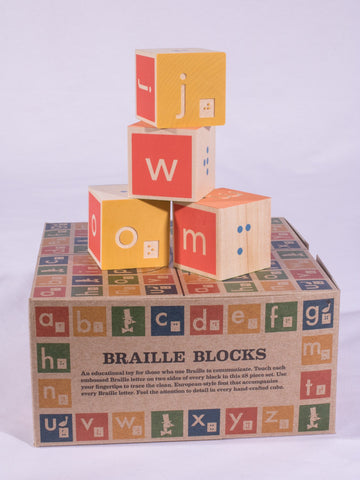 Braille ABC Blocks - 28pc. Set