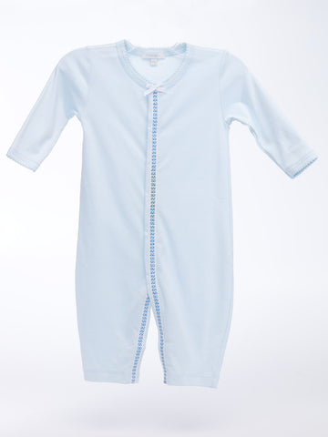 Royal Baby Blue Non Footed Coverall
