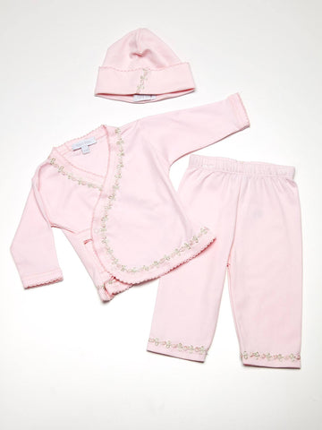 Baby Girl Take Home Four Piece Set