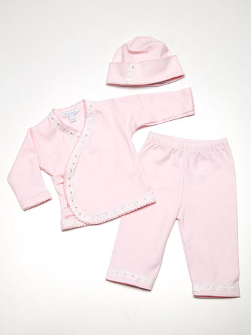 Royal Baby Pink Take Home Layette