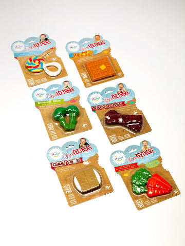 AppeTeethers, Safe, Soothing and Down Right Fun