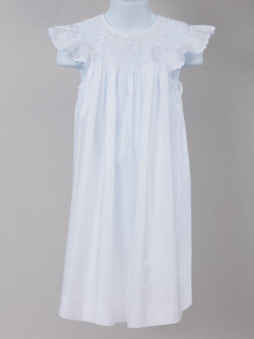 Angelic White Pearl Accented Dress