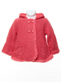 Mayoral Baby Girl Strawberry Pink Knit Cardigan