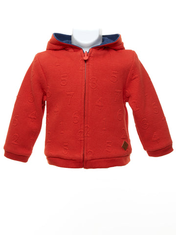 Mayoral Baby Boy Reversible Hooded Jacket